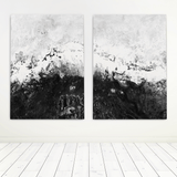 black-and-white-abstract-art-set
