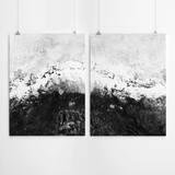 black-and-white-abstract-painting