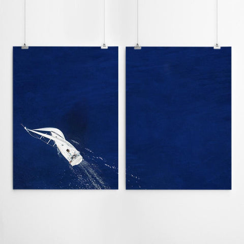 boat print nautical wall art south africa