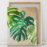 botanical canvas art wall decor