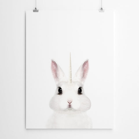 Bunny Nursery Wall Art Print