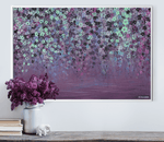 Purple Flower Painting Art Print