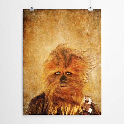 Chewbacca Star Wars Print