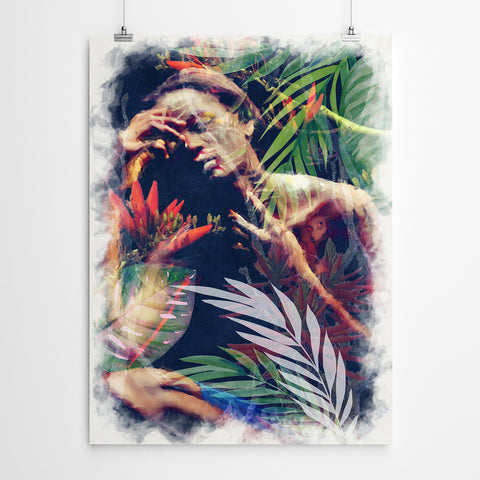 African Woman Wall Art