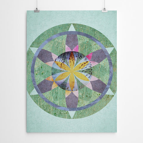 Flower of Life Sacred Geometry Mandala Art