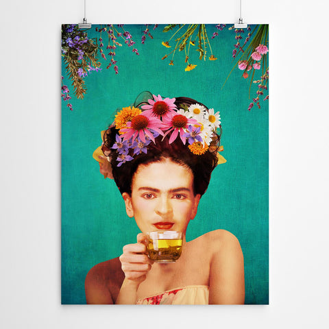 frida kahlo wall art print