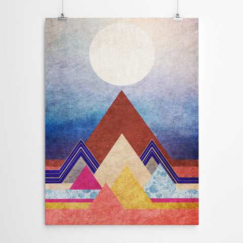 Geometric Canvas Wall Art