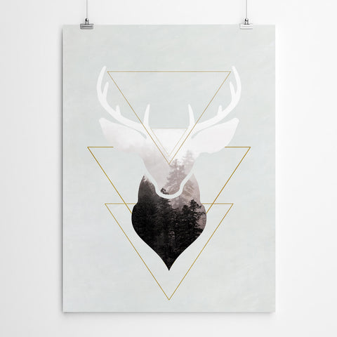Stag Wall Art Prints