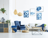 indigo-wall-art-set
