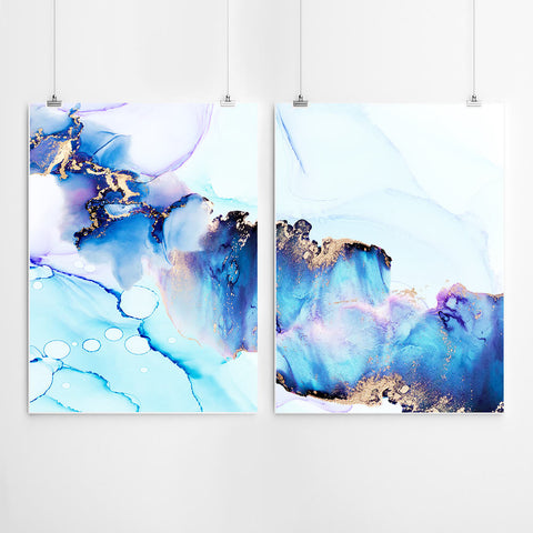 Abstract Wall Art Set