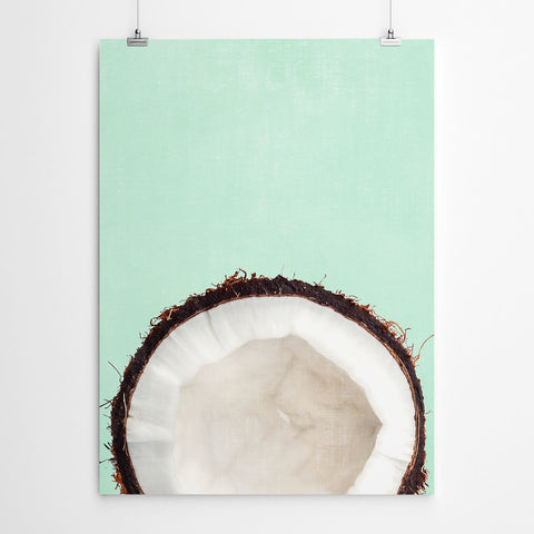 Coconut Kitchen Wall Art