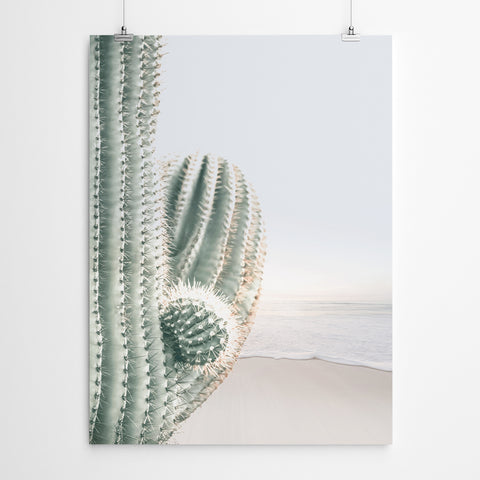 Cactus Beach Wall Art