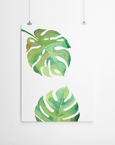 monstera-leaf-print-art-world-cape-town
