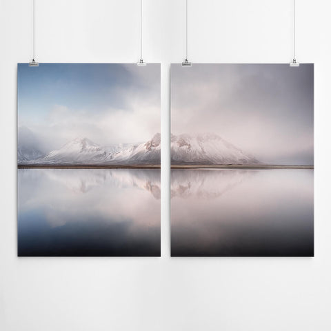 Mountain Wall Art Prints Set