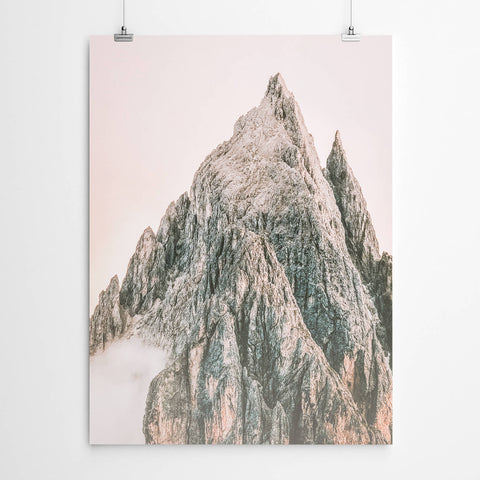 Pink Mountain Art