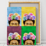 pop art frida kahlo print