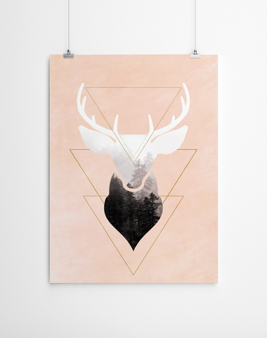 stag-poster-print-artworld-niky-rahner