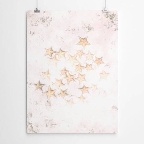 Pink Starfish Art Print