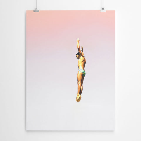Pool Wall Art Print