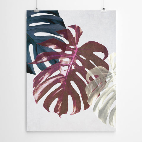 Monstera Leaf Canvas Art