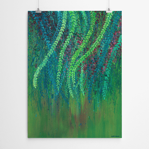 tree wall art print
