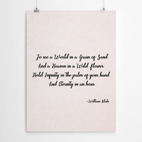 William Blake Wall Art Print