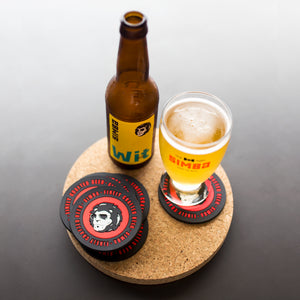 Rubber Coasters (Set of 6)