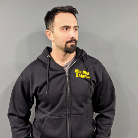 MiniWarGaming Zip-Up Hoodie