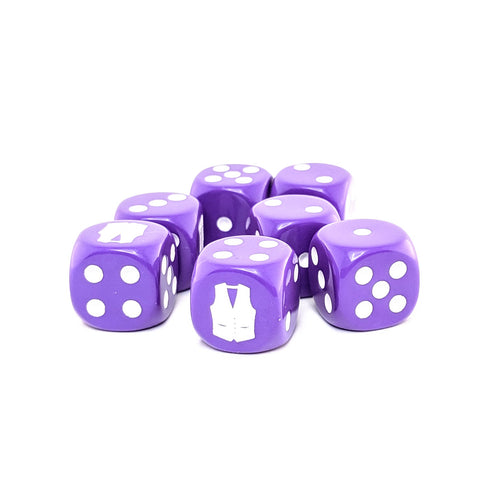 Beato the Vito's Vest Dice Pack - 7 6-Sided Dice (7D6)