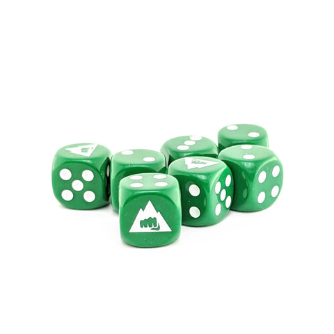 Steve the Mountain Dice Pack - 7 6-Sided Dice (7D6)