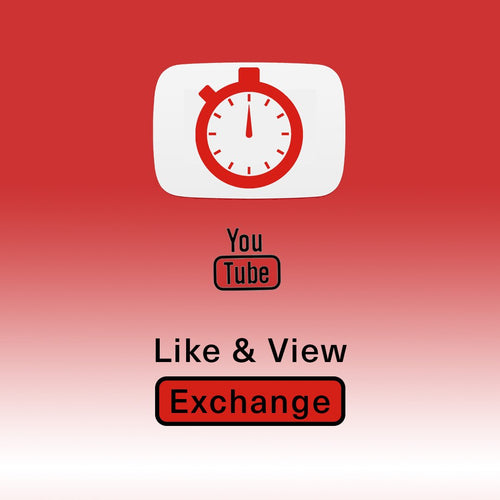 YouTube Like & View Exchange (Up to 5 Vids Per Month, Ongoing Engagement)