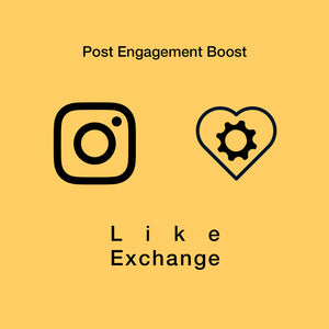 Like Exchange & post engagement boost