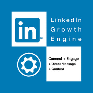 LinkedIn growth engine with content