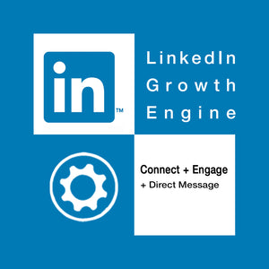 Linkedin growth engine. Connect, engage and direct message