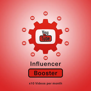YouTube Influencer Booster x 10 Vids a Month | Get Paid More, Get Seen More!