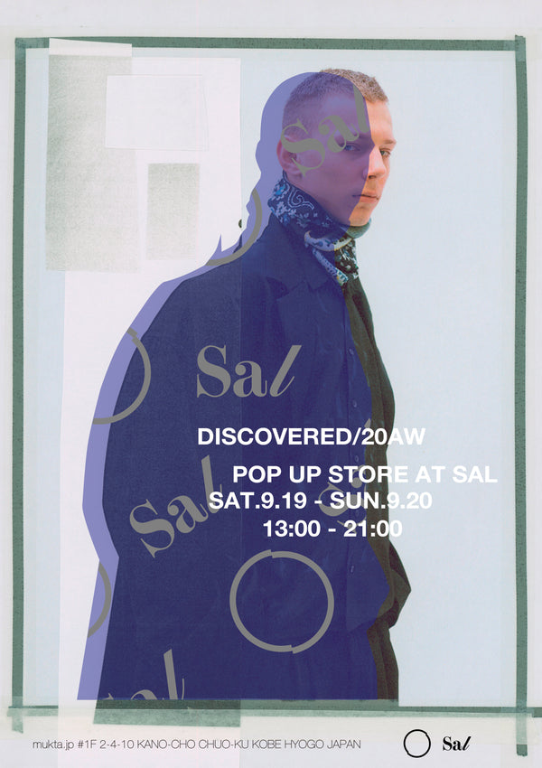 """VERY METAL"" 【9/19(Sat)-9/20(Sun) DISCOVERED AW20 Launch & Pre-order Exhibition at Sal】"
