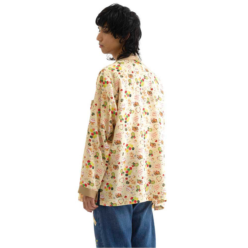 PACKABLE PAJAMA SHIRT (BGE)