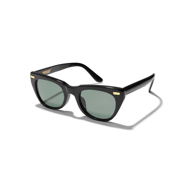 Cat-Eye Wellington Sunglass (BLK)