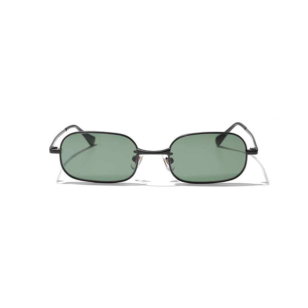 Square Metal Sunglass (BLK)