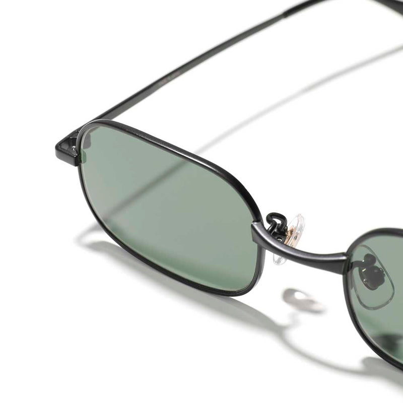Square Metal Sunglass (UC1A4E03) Black
