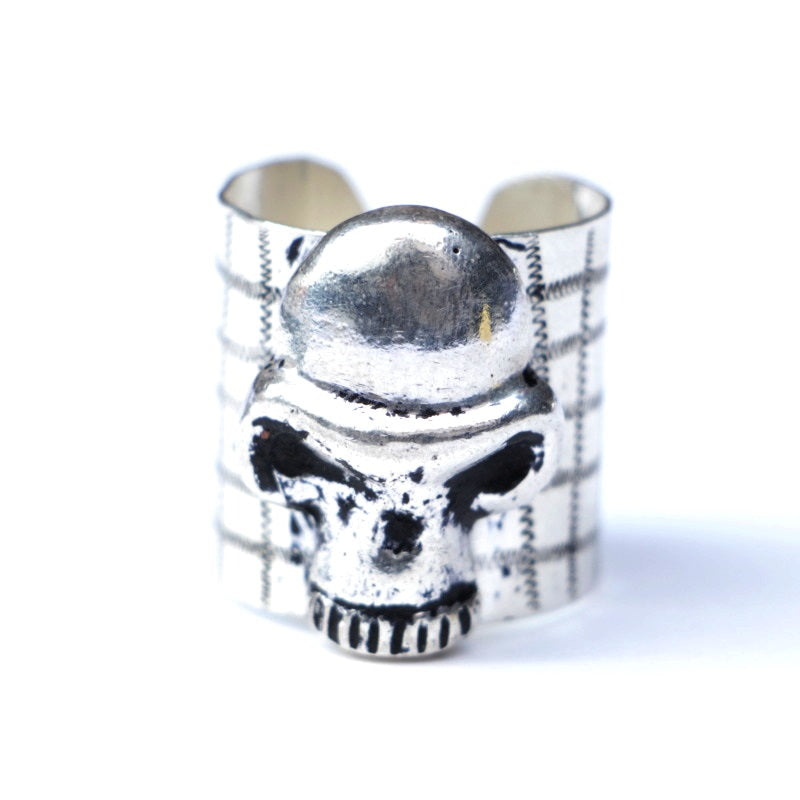 SKULL BILL RING (SIL)