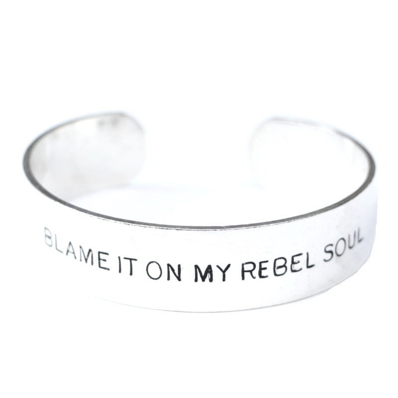 REBEL BRACELET (SIL)