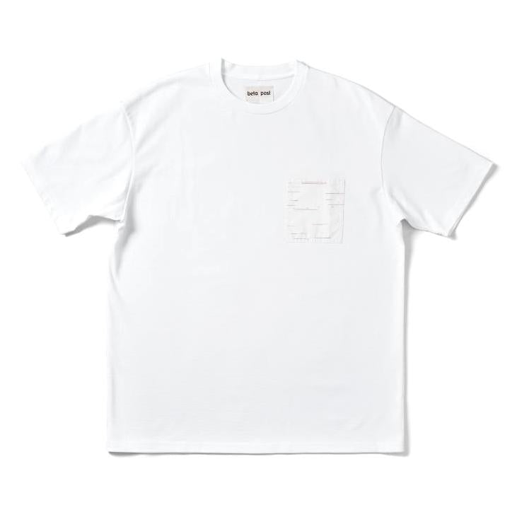 Sakiori Pocket T-Shirts (WHT)