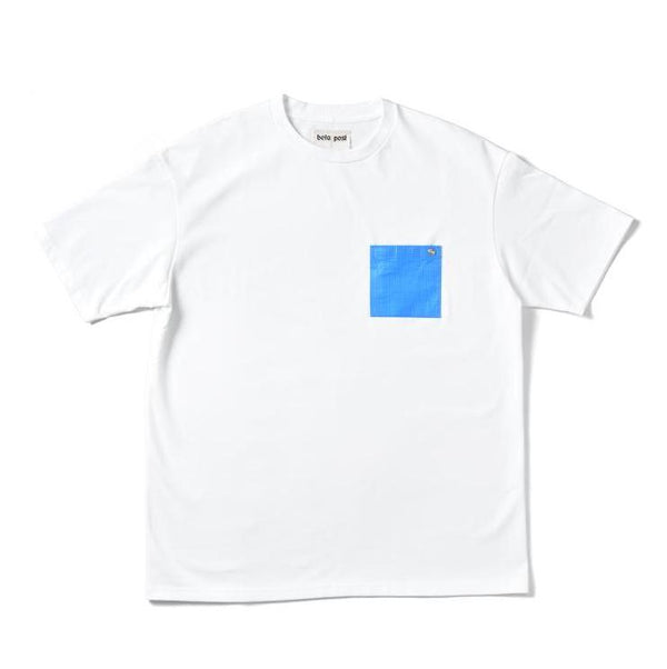 Blue Sheet Pocket T-Shirts (WHT)