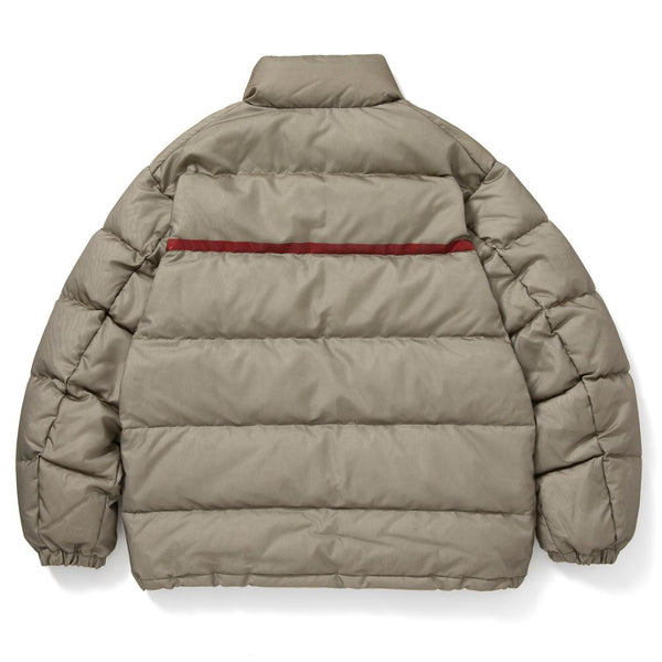 LAYERED PUFFER JACKET (L.OLV)