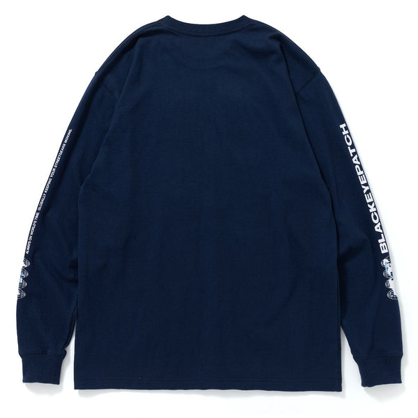BIG BUSINESS L/S TEE (NVY)