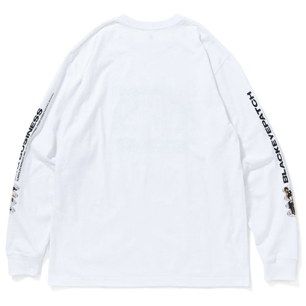 BIG BUSINESS L/S TEE (WHT)