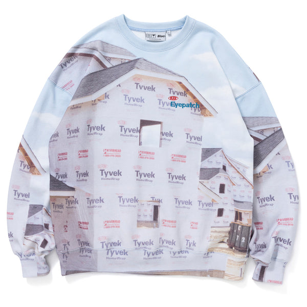 HOUSEWRAP CREW SWEAT (MLT)