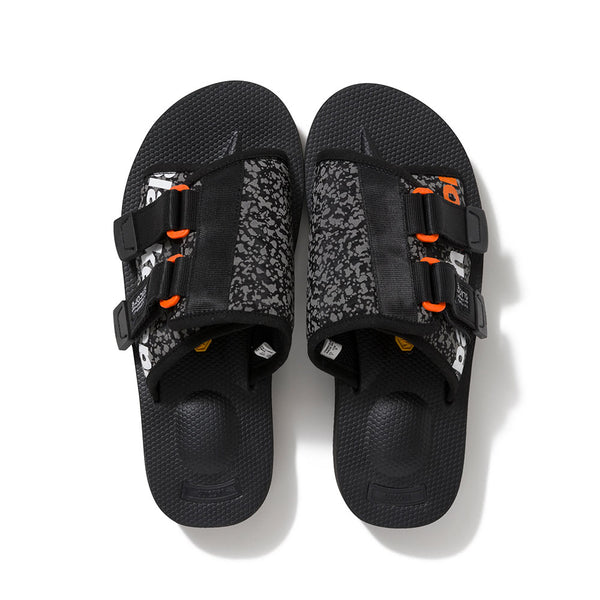 SUICOKE REFLECTOR SANDALS (BLK)