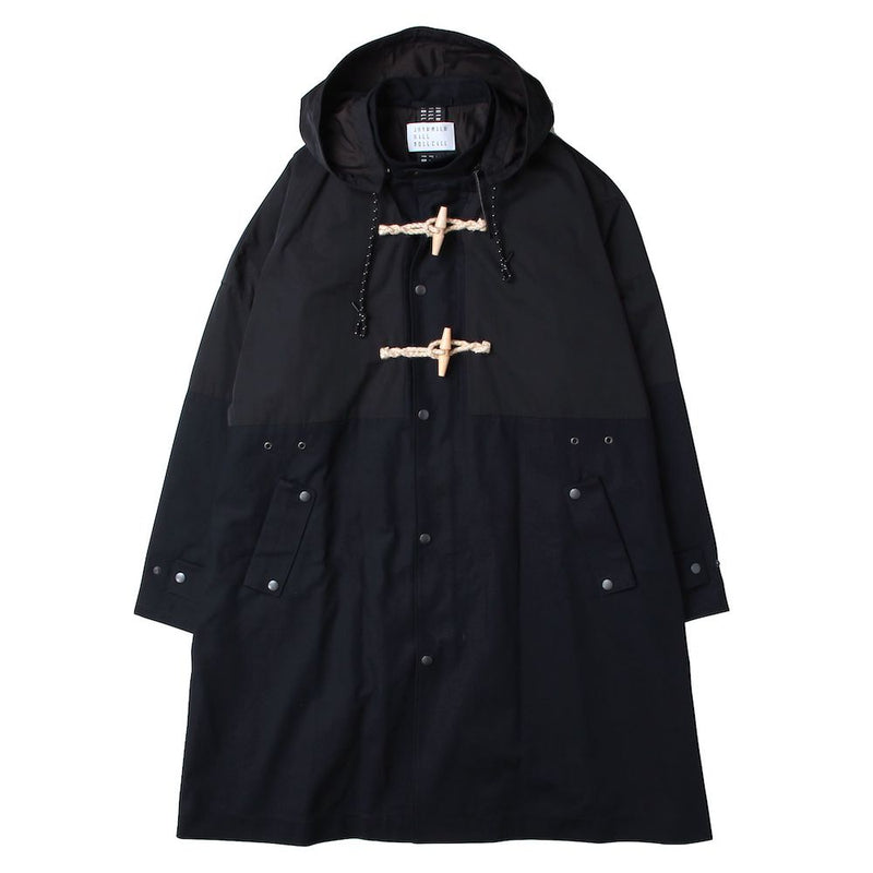 OVERSIZED LONG DUFFLE COAT (NVY)